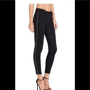 Hudson Jeans Luna Super Skinny Crop/Jeans
